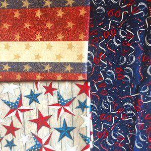 Pick 3! USA Patriotic July 4th Masks